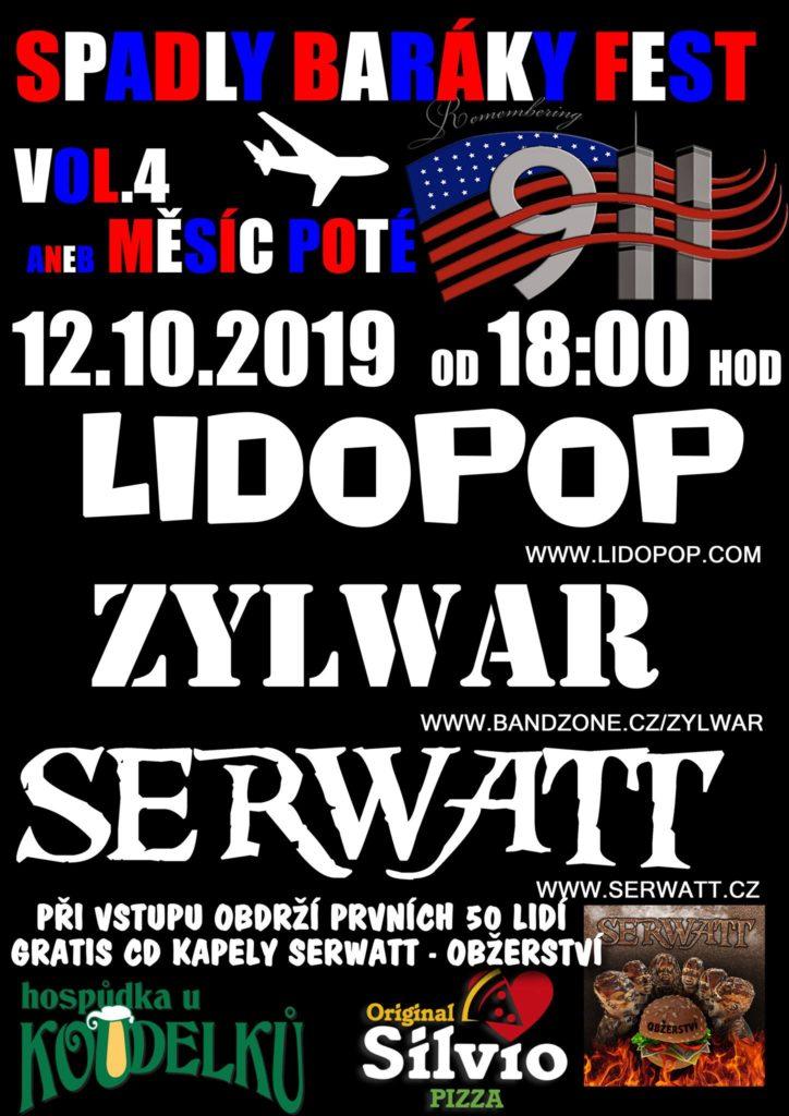 Plakát koncert 12.10.2019